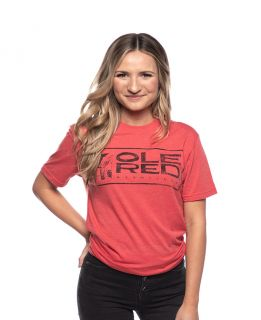 Ole Red Nashville Unisex Red Logo Tee