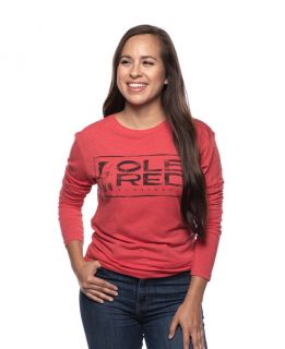 Ole Red Tishomingo Unisex Long Sleeve Logo Tee