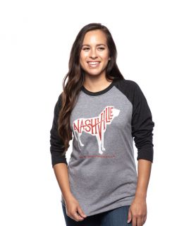 Ole Red Nashville Unisex Dog Raglan