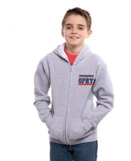 Opry Youth Nashville Poster Zip Hoodie