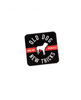 Ole Red Old Dog New Tricks Magnet