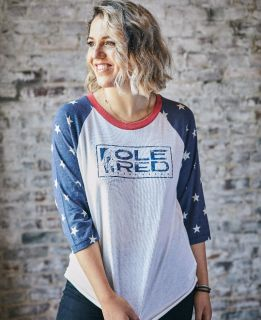 Ole Red Nashville Star Sleeve Raglan