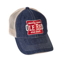 Ole Red Country Music Beer Trucker Hat