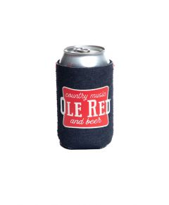 Ole Red Country Music Denim Can Cooler