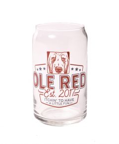 Ole Red Stemless Wine Glass