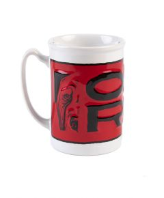 Ole Red Sculpted Mug