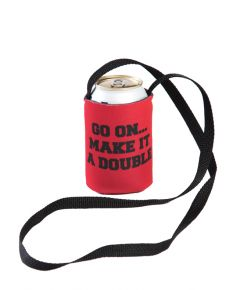 Ole Red Make It A Double Hands Free Can Cooler